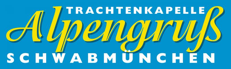 Logo Trachtenkapelle Alpengruß blau