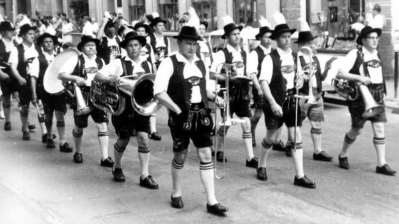 Historie Bezirkstrachtenfest Ottobeuren 1963
